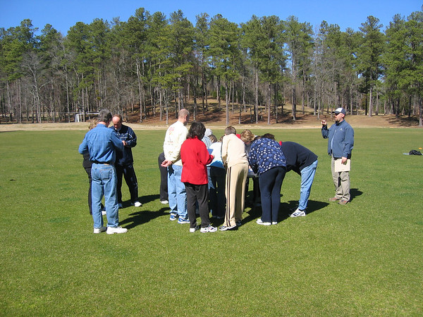 A wonderful group of 7 couples enjoyed beautiful weather and delightful fellowship at WinShape Retreat, March 5 & 6, 2007